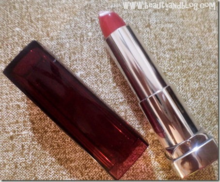 Freshly Shopped: MedPlusBeauty.com Haul & Review Maybelline Color Sensational Lipstick Hooked On Pink