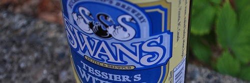 image of Tessier's Witbier courtesy of our Flickr page