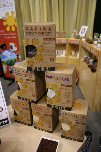 Gluten free does not have to be a bummer when there are options like these nutrient-rich flours from Peru made from ancient grains like amaranth, mesquite, quinoa, and purple corn.