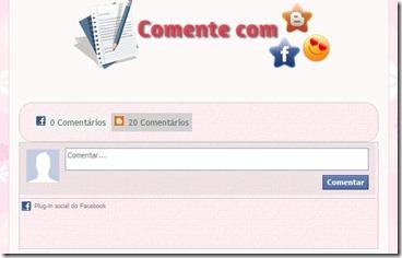 comente com facebook