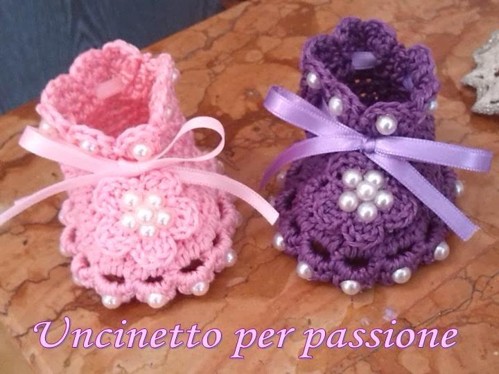 Favori Uncinetto per passione: Bomboniere battesimo a uncinetto: dolci  FF82