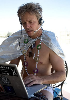 Philip at Burning Man