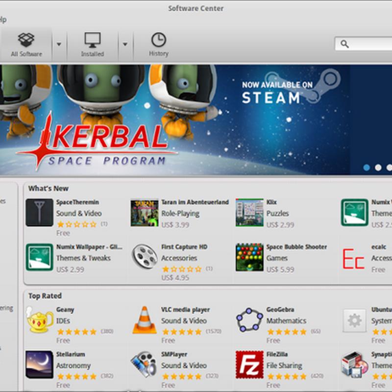 ElementaryOS ha abilitati di default tutti i repository ufficiali di Ubuntu.