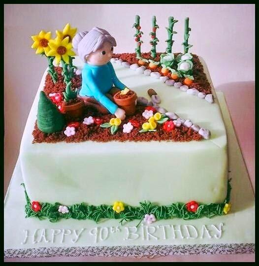 Cake Decorating Ideas Garden : Sweet Mischief Ja Cake Ideas: Gardening inspired cakes
