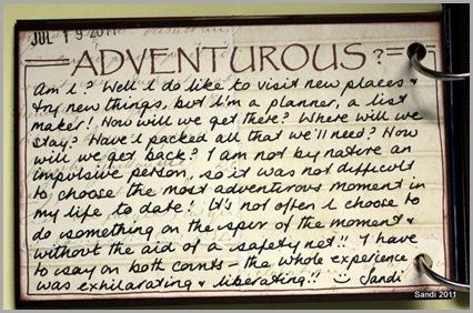54 Adventurous