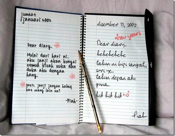 diari yang berhabuk