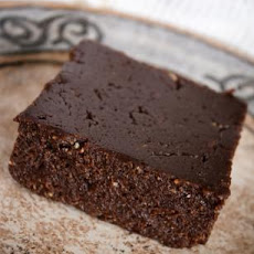 Flourless Chocolate Cake (Raw Food)