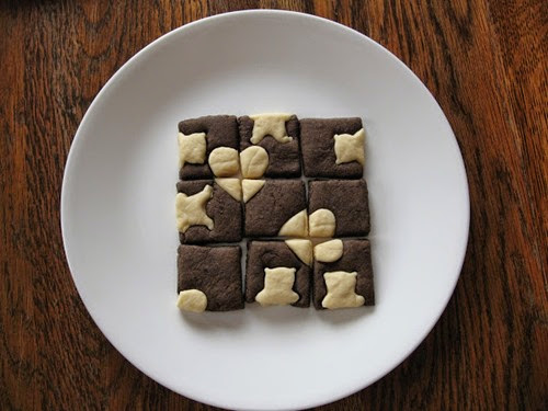 9 Piece Square Puzzle  Cookies