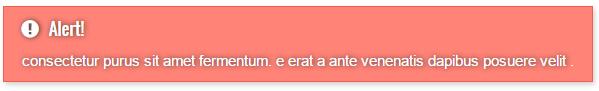 Alert box shortcode