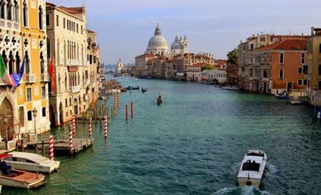 Veneza vista da Ponte dell' Accademia