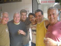 Godô, Homero, Cleto, Luiz Correia e Johnny