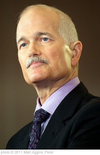 'Jack Layton, Leaders Tour - Tournée du Chef - Jack Layton' photo (c) 2011, Matt Jiggins - license: http://creativecommons.org/licenses/by/2.0/