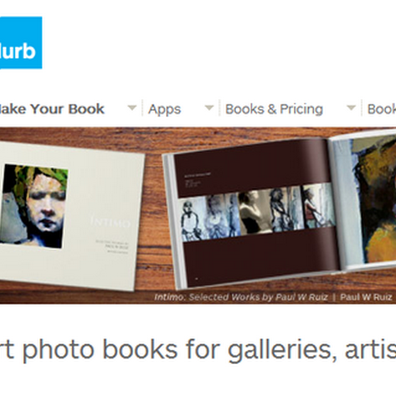 How to Self-Publish an Art Book with Blurb