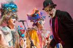 Sol, playa y carnaval es el ciclo de espectáculos carnavalescos que se realiza en escenarios situados en las playas de Montevideo durante los meses de febrero y marzo y donde actuará una murga joven y las agrupaciones que participan del Concurso Oficial de Carnaval con sus espectáculos completos / Foto: Leonardo Correa y Anibal Bogliaccini.