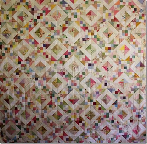 Scrap Pastel Quilt (2)