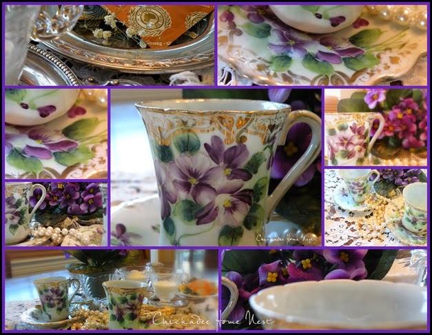 2015 Violet Tea Cups