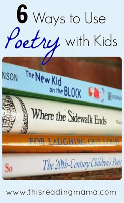 6 ways to use poetry with kids