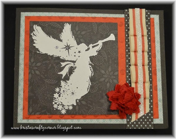 Sing Glory_Snowhaven_ Hostess Only stamp set_angel-christmas-card