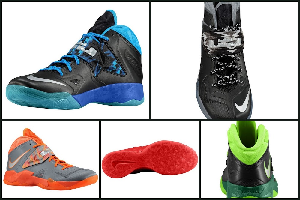 LEBRON8217s Nike Zoom Soldier VII 8220135 Pack8221 Available at Eastbay ... f6f4c20007