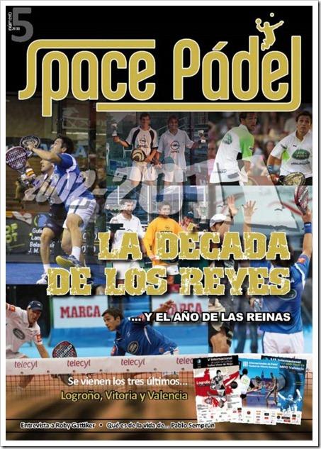 SPACE PÁDEL pone a disposición de todos los aficionados el número 5 de su revista.