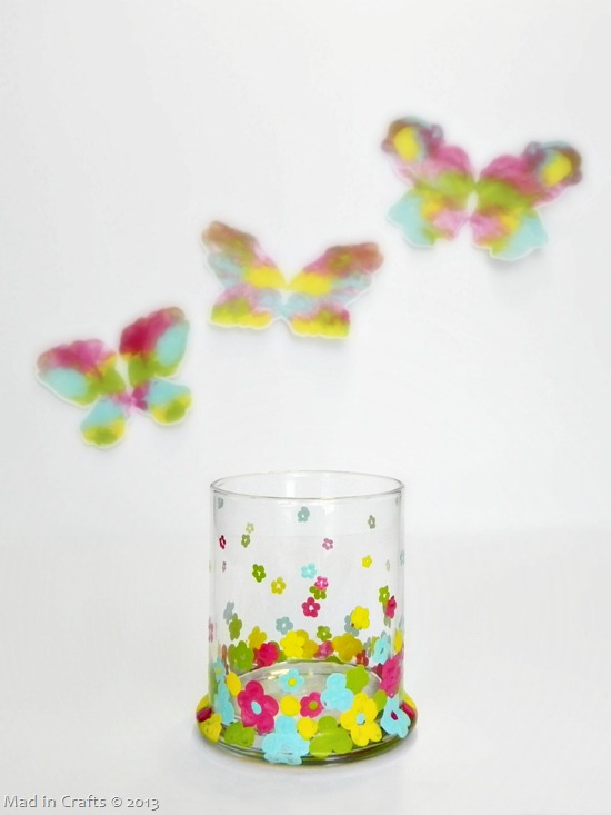 Dip Dot Flower Votive