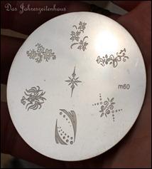 Stamping Schablone Plate TEDI m60