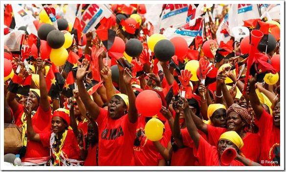 Angola, eleições 2012