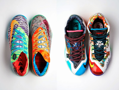 nike lebron 11 xx what the lebron 1 22 Nike Basketball Shares New What The #@*% Designs for LBJ & KD