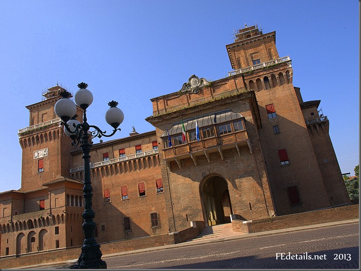 Happy Birthday Castello Estense! Ferrara, Italy, Photo1