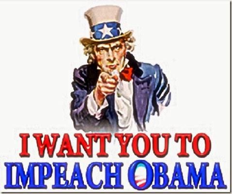 Uncle Sam- Impeach Obama