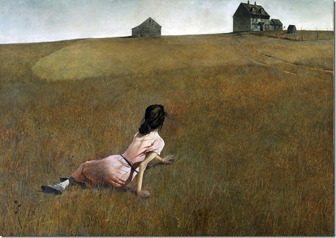 Andrew Wyeth Christina's World  1948