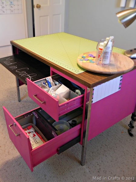 work table storage