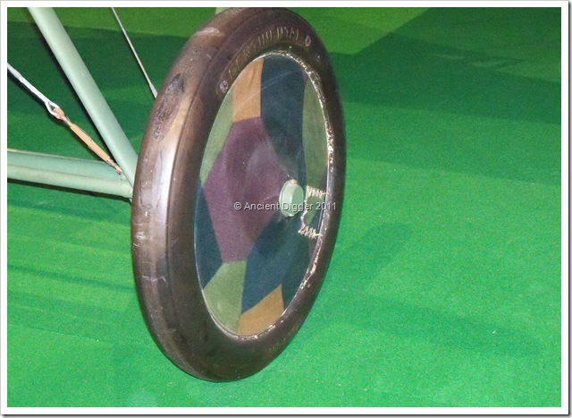Halberstadt CL IV wheel