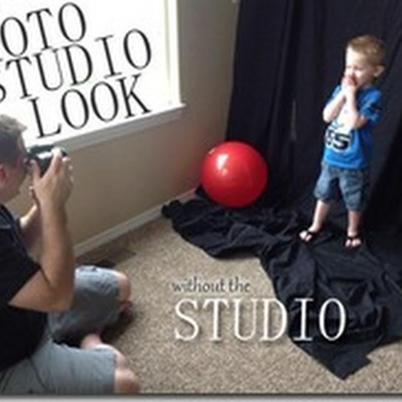 Get The Photo Studio Look At Home