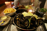 Mussels and frites