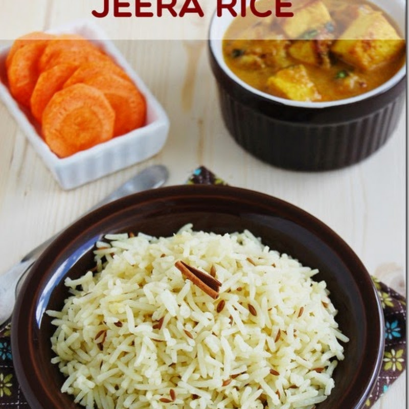 Jeera rice / Jeera pulao