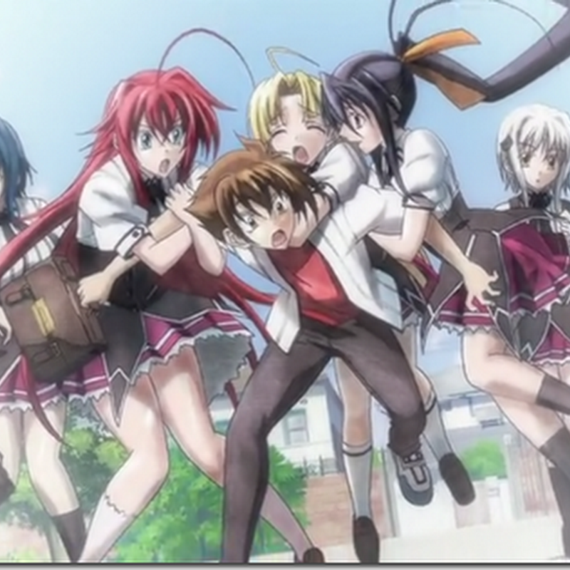 [Review] Highschool dxd Light Novel