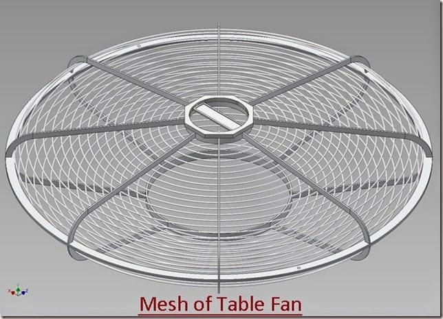 Mesh of Table Fan_1