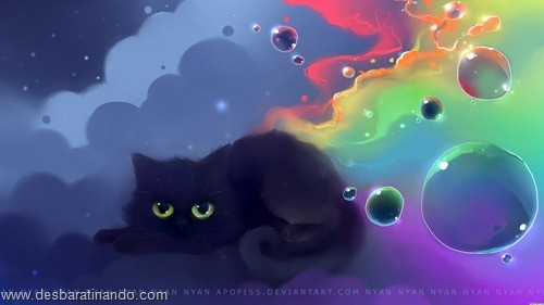 nyan cat wallpaper meme desbaratinando (7)