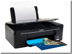 Impressora Epson Stylus TX125 Driver