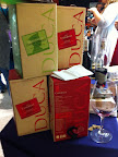 Boxed Italian wine, sold in 3 liter containers. Not bad, actually.