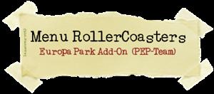 Menu RollerCoasters (PEP-Team) lassoares-rct3