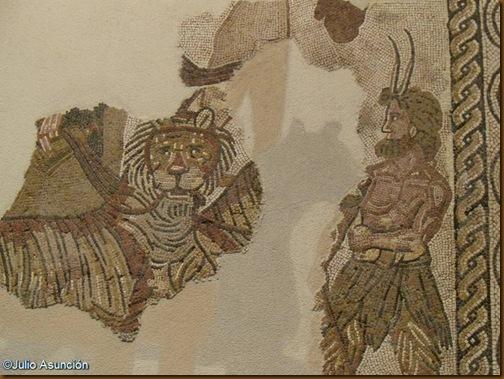 Mosaico del triunfo de Baco - Museo de Navarra