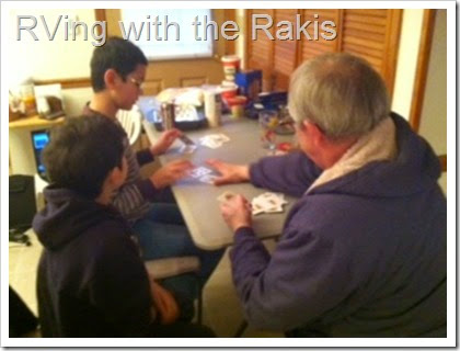 Celebrating Christmas in an RV with three children. - Details on how we made it work from RVing with the Rakis