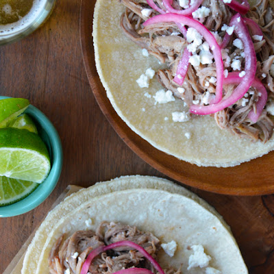 Simple Slow Cooker Pulled Pork Tacos