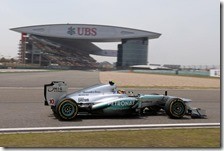 Hamilton conquista la pole del gran premio della Cina 2013
