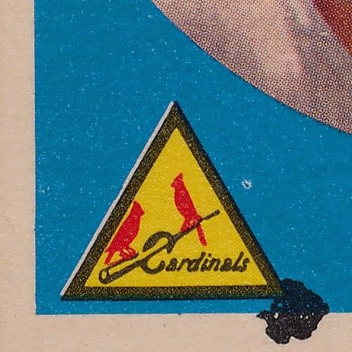 1959 Topps 6 Alex Grammas dark variation