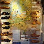 dutch clogs in Zaandam, Noord Holland, Netherlands