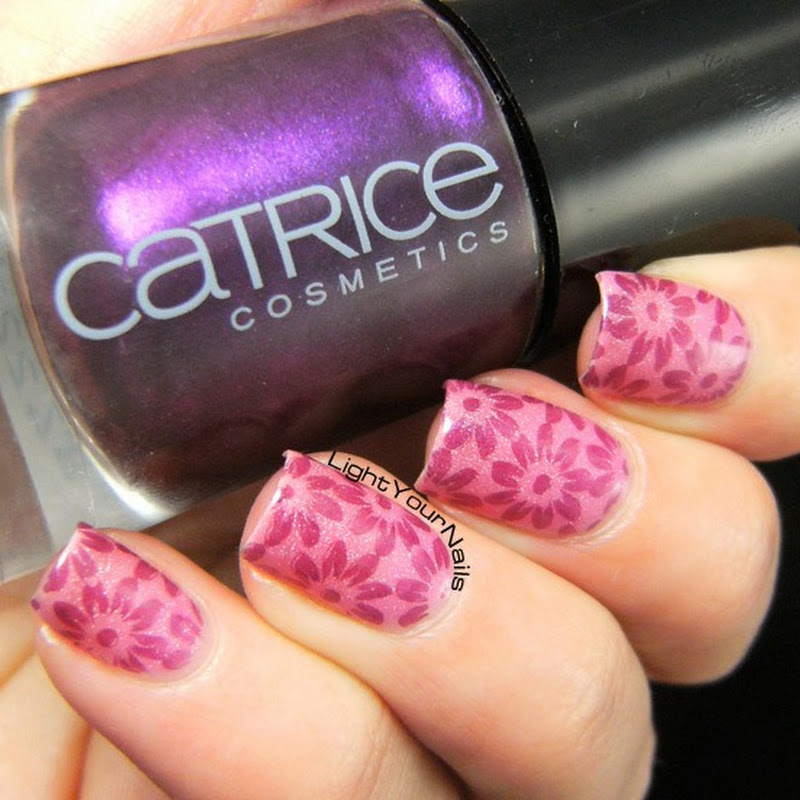 Pink stamping with BP-46 plate