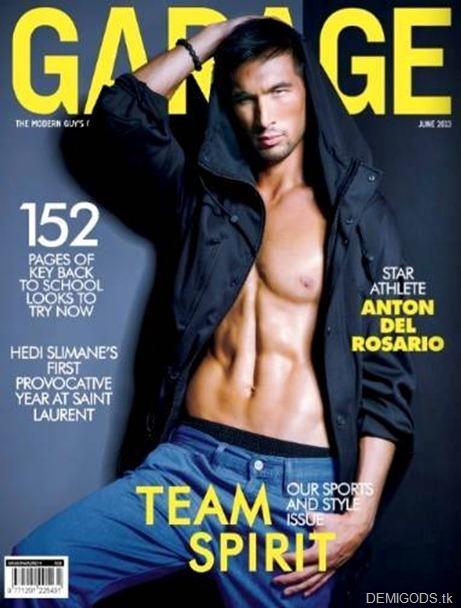 Garage Mag June 2013 Anton del Rosario - DEMIGODS
